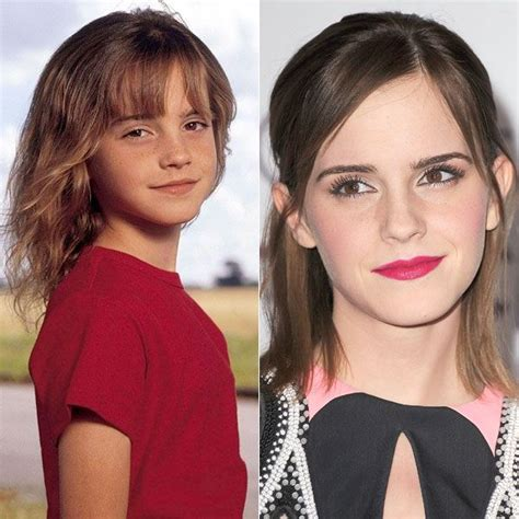 emma watson kid photos 115 best guess who celebrities as kids images on