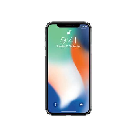 A Iphone 10 Systematix Media Apple Premium Reseller Iphone X 64gb Silver Mqa62hn A