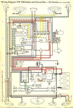 vw beetle wiring diagram vw beetles beetle