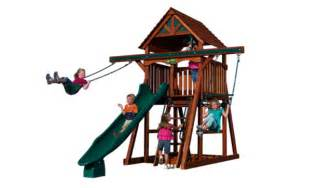 Backyard Adventures Treehouse Play Structures For Any Yard Size Kids Playsets And