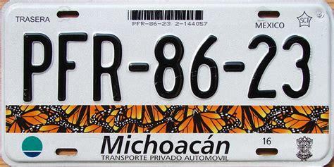 diseo de las nuevas placas de michoacan ver placas nuevas del estado de michoacan