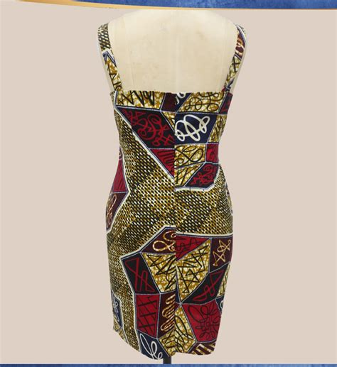 Batik Bodycon Dress dresses for wax batik fabric gallus casual