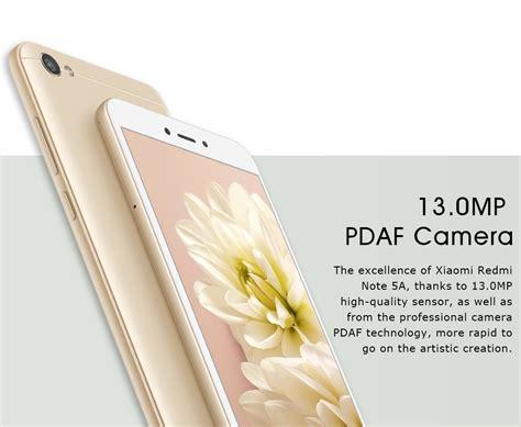 Xiaomi Redmi Note 5a 2 16 Gb Gold global xiaomi redmi note 5a 5 5 snapdragon 2gb 16gb dual sim gold ebay