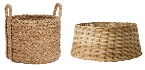 basket tree stand wicker baskets photo album best tree
