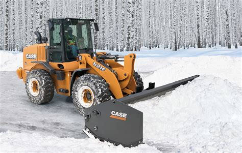 Sectional Snow Plow by Prep Your Wheel Loaders For Winter Now