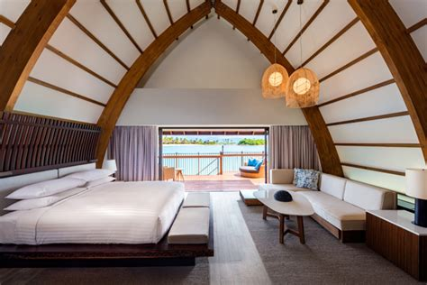 newest overwater bungalows   tahiti travel weekly