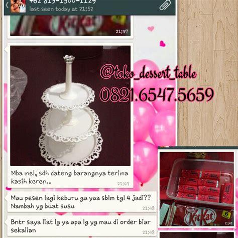 Jual Perlengkapan Dessert Table by Toko Dessert Table Tier Cake