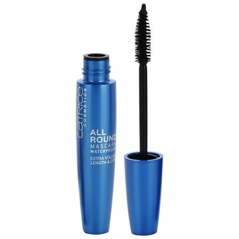Catrice Allround Mascara Waterproof 010 Blackest Black catrice allround mascara for length and volume