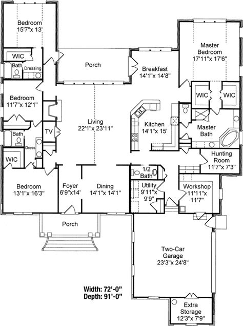 three bedroom house plans with bonus room 1000 ideas about architectural house plans on pinterest