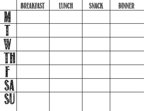 two week meal plan template a feteful menu planning ah finally a template