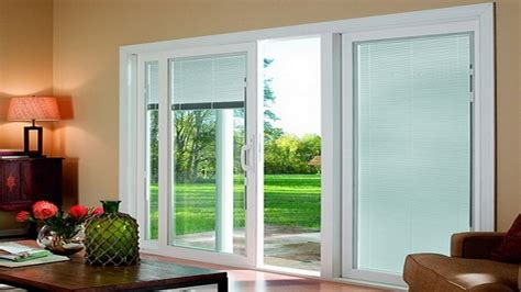 sliding glass door blinds robinson house decor