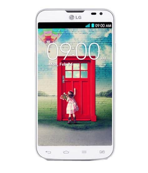 lg mobile l70 lg l70 4gb white mobile phones at low prices