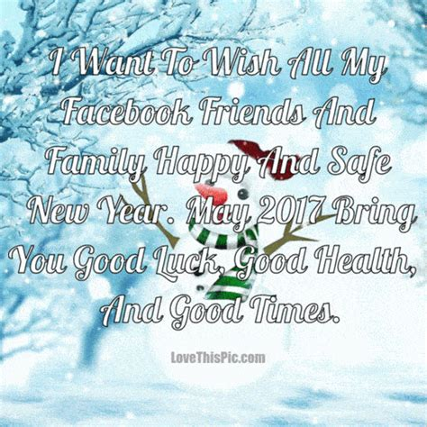 i want to wish all my facebook friends and family a happy