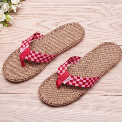 super comfortable flip flops super comfortable checks linen women 226 s summer flip flops