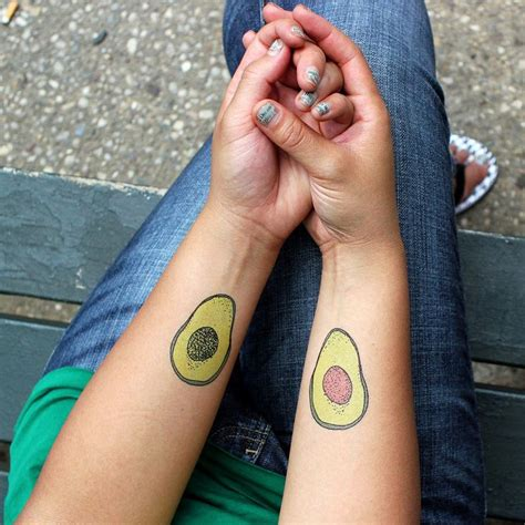 avocado tattoo couple 18 best images about tattoos on pinterest matching