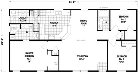 howell 26 x 54 1422 sqft mobile home factory expo home centers