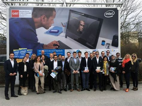 Mba At Intel In Usa by Mbs Students Visiting Intel During Career Day Mbs Insights