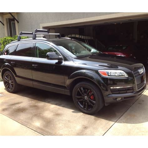Audi With Porsche Engine by 2007 Audi Q7 V6 Fuel Injected Engine Black Custom Audi