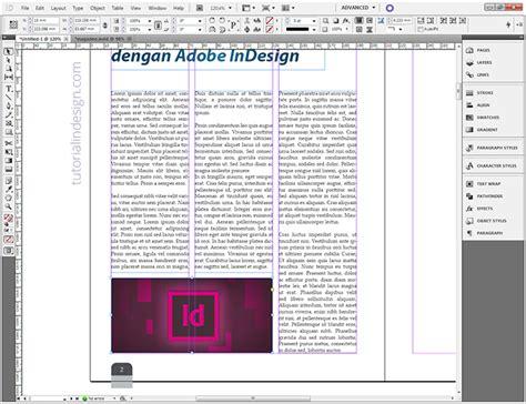 cara desain layout website cara membuat layout majalah sederhana dengan indesign