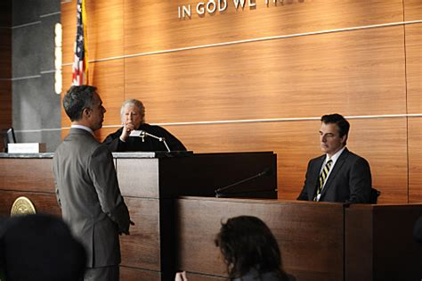 titus welliver law and order still of chris noth peter riegert and titus welliver in