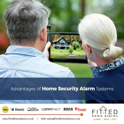 advantages of home security alarm systems fitted