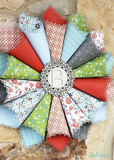 Rolled Paper Craft - best 25 paper wreaths ideas on diy paper