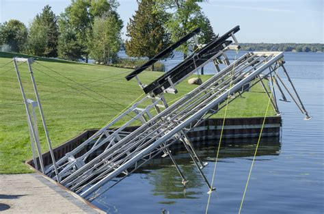 daka boat lift boat lift options accessories r j machine