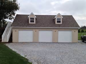 3 car pole garage with attic truss customer projects