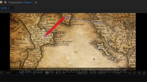 Animated Map Path After Effects Template Youtube Map Animation After Effects Template