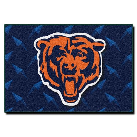 Chicago Bears Nfl 20 Quot X 30 Quot Tufted Rug Chicago Bears Crib Bedding