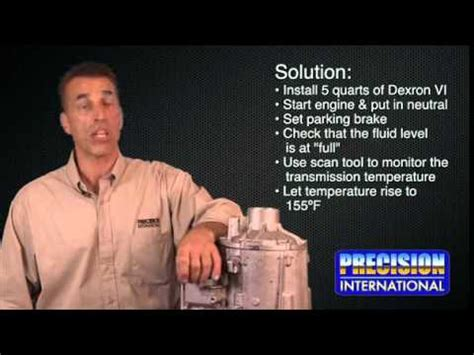 resolving 6l80 problems from precision international