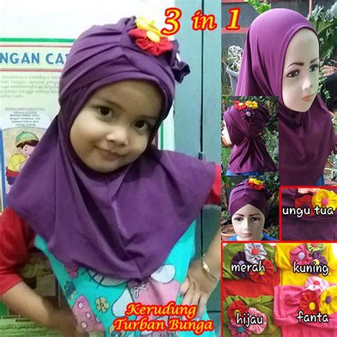 Kerudung Dan Turban Anak Instan kerudung turban bunga sentral grosir jilbab kerudung i supplier jilbab i retail grosir