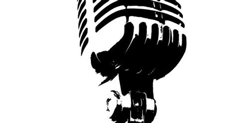 quot microphone music audio stencil microphone stencils pinterest stenciling and music