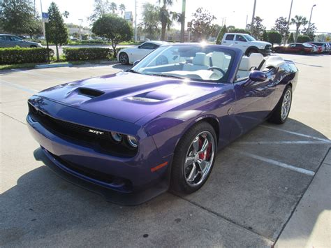Cost Of Dodge Challenger by This 707hp Dodge Challenger Srt Hellcat Convertible Will