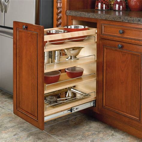 rev a shelf base pullout organizers adjustable wood pull out organizers