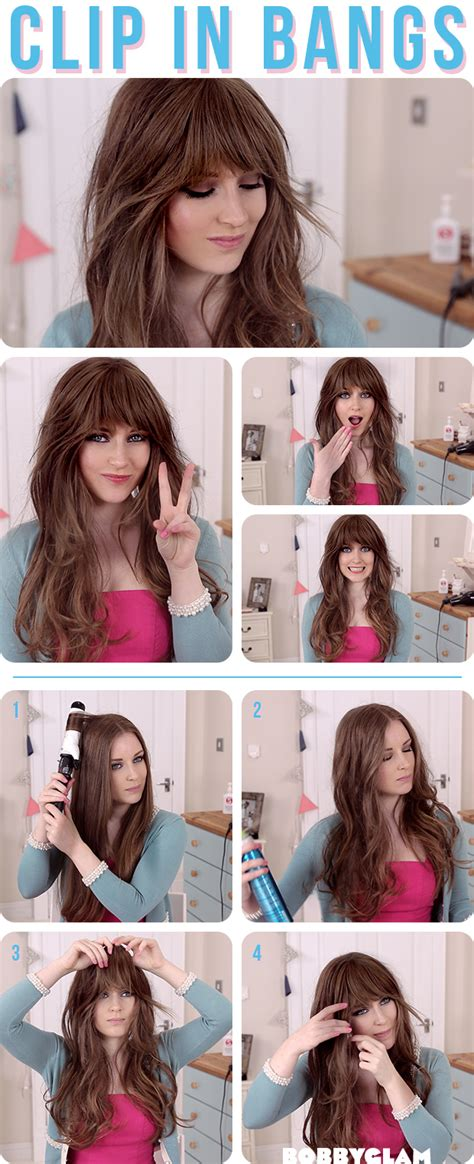 can you get hair extensions for bangs how to get a look with bangs without cutting your hair