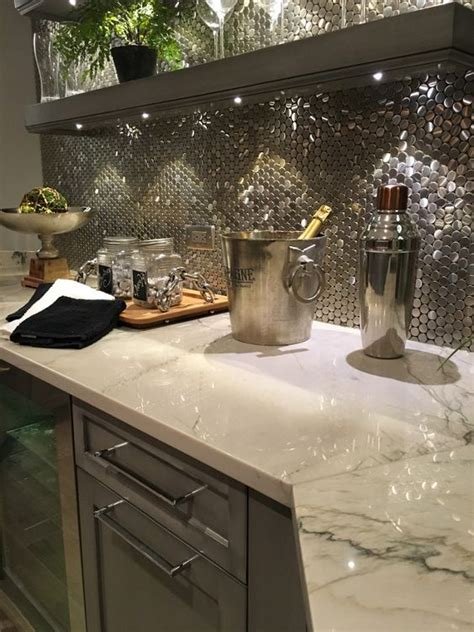 charming home basement bar designs with marble countertop 13 quartzite countertops you absolutely want to see