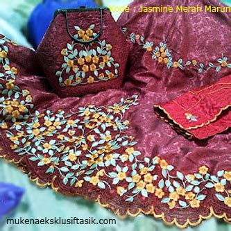 Mukena Merah Marun toko tumir