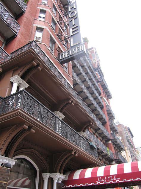 Novel Manhattan For Two hotel chelsea