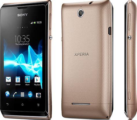 Hp Sony Android Jelly Bean Sony Xperia E Con Android Jelly Bean A Marzo Notebook Italia
