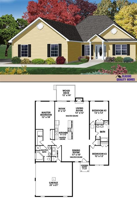 quality homes floor plans the classic ranch