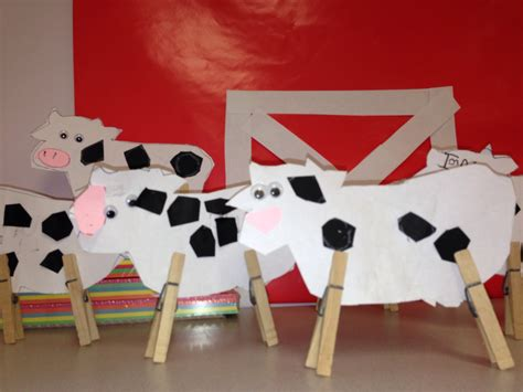 cow crafts for easy cow craft for farm unit possible 2nd birthday