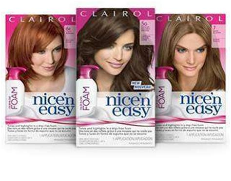 nice and easy hair color coupons 2014 save 1 50 off clairol nice n easy hair color item