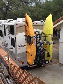 Travel Trailer Kayak Rack by Welcome To Rvkayakracks The Vertical Rv Kayak Rack Yakups Brand Why Leave