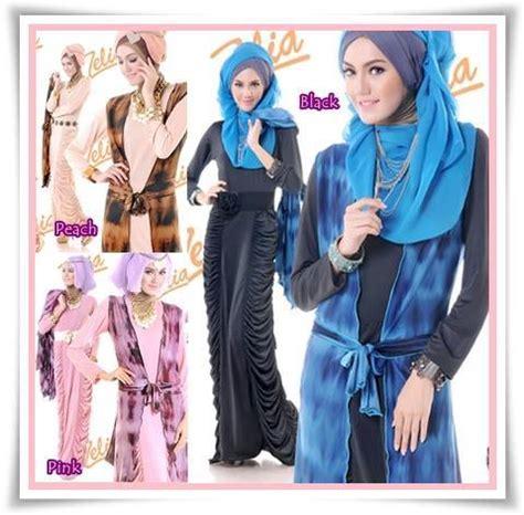 Baju Muslim Magnolia Syari By Friska2 pakaian islami abiti moslem style ready sista zelia gamis magnolia