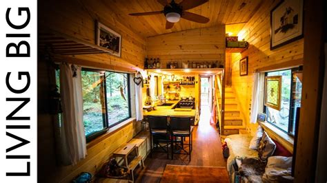 tiny house with kids natural build tiny house for family with separate office and kids bedroom