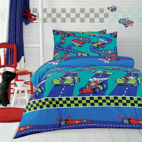 racing bedding racing cars quilt cover set doona duvet cover boys bedding