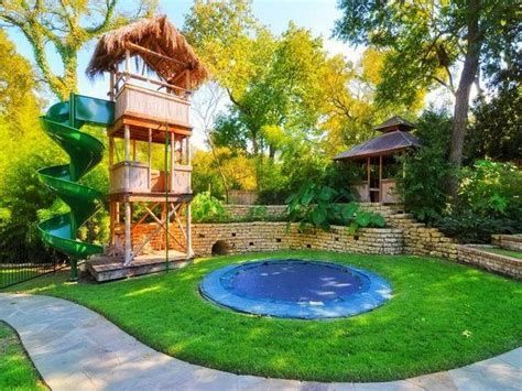 kids backyards backyard landscaping ideas for kids with small pool