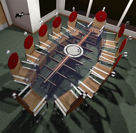 Viking Conference Table This Viking Conference Table Will Turn Your Meeting Into A Viking Raiding