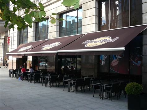 Shop Awning by Shop Canopy Awnings For Cafes Bars In Bolton Uk